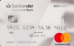 Santander Mitt Kort +