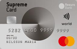 Supreme Card World